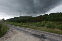Race Against Time (Click And Pray) Tags: managedbyclickandpraysflickrmanagr whistlefield scotland argyll horizontal hillside landscape nopeople road rural storm stormclouds whistlefieldscotlandargyllhorizontalhillsidelandscapenopeopleroadruralstormstormcloudsgbr