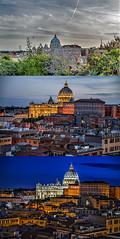 San Pietro (maggiolonegiallo) Tags: hdr maggiolonegiallo rome roma mg59 san pietro saint peter vatican vaticano italy italia
