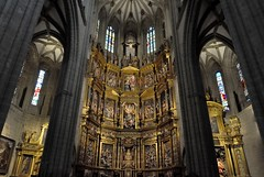 Astorga (León-España). Catedral. Interior de la catedral desde el coro (santi abella) Tags: astorga león castillayleón españa catedraldeastorga retablos