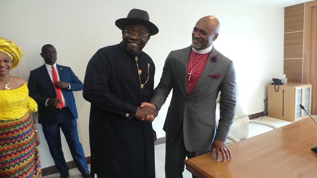 HSDickson- With Pastor Adefarasin. 17th July 2017