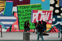 New York Street Art (jomak14) Tags: fotodioxproeostom43adapter manhattan manualfocus microfourthirds murals nyc newyork omtoeosadapter olympusep2 panasonic streetart urbanart vintagelens zuiko55mmf12 wtc strideby peopleonthestreet