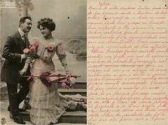 Cartão (Arquivo Nacional do Brasil) Tags: correspondência carta letter mensagem message arquivonacional arquivonacionaldobrasil nationalarchivesofbrazil história memória amor love