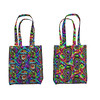 disco magma tote bag by Paysmage (paysmage) Tags: paysmage disco abstract fabric fabrics fashion spoonflower sproutpatterns roostery sewing seamless stiching design designers designer apparel colorful cotton collection coordinates colors polyester pod print printondemand clothing multicoloured multicolor lava magma psychedelic gypsy boho seventies bubbles upholstery totebag bag diy tote textile velvet