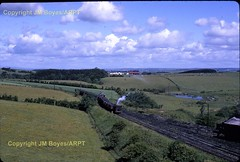 JMB T66 16 Mauchline Colliery NCB No.16 Andrew Barclay No.1116 10 with load to Garrochburn 24061968 (Ernies Railway Archive) Tags: gswr lms scotrail mauchlinecolliery ncb