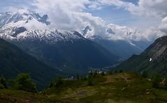 Panorama (CHAM BT) Tags: massif montblanc gouille rhodo neige sommet vallee glacier nuage sentier rando foret hautesavoie alpes snow summit valley cloud pond hiking walking path