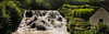 Blenheim Palace (Bukshee) Tags: wood nature water landscape outdoors park waterfall tree river environment travel motion season summer horizontal colorimage streamflowingwater beauty nopeople rockobject scenicsnature flowingwater beautyinnature extremeterrain nonurbanscene day