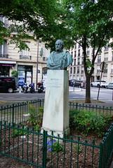 Statue of Artigas of Uruguay (maxfisher) Tags: paris16earrondissement îledefrance france