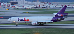 N359FE MD-10-10 Landing at Atlanta Airport May 2018 (2) (Conor O'Flaherty) Tags: n359fe md1010f mcdonnell fedex landing triholer aviation jet generalelectriccf6 cf6 generalelectric atl atlanta georgia