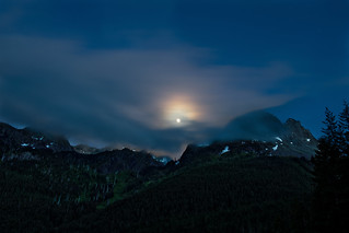 Moonlight over Mt. Pershing