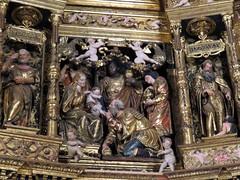 SANTO DOMINGO DE LA CALZADA. LA RIOJA, 20-02-18-23 (joseluisgildela) Tags: santodomingodelacalzada larioja church retablo