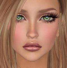 RisaShapes Lulu With Zahra (Risa Bright) Tags: laq bento mesh avatar secondlife closeup bentomeshhead laqroki lulu zahra risashapes