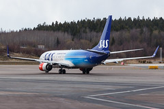 SAS B737-800(WL) LN-RGI Turid Viking 002 (A.S. Kevin N.V.M.M. Chung) Tags: aviation aircraft airlines plane aeroplane spotting airside apron sas boeing