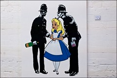Alice by Trust Icon - DSCF2281a (normko) Tags: london west art gallery trust icon 10 pounds lighter exhibition alice pills drink police arrest
