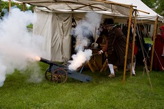 Cannon under the tent (Pahz) Tags: janesvillerenaissancefaire janesvillewi renfaire renaissancefaire renaissancefairephotographer pattysmithjrf jvl wisconsin