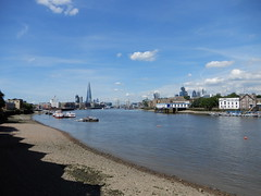 Thames view from Rotherhithe (upriver) at low tide (John Steedman) Tags: london uk unitedkingdom england イングランド 英格兰 greatbritain grandebretagne grossbritannien 大不列顛島 グレートブリテン島 英國 イギリス ロンドン 伦敦 thames themse thamise river rotherhithe