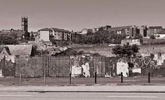 Dock Street, Dundee B&W (laurajayne01@yahoo.co.uk) Tags: dundee scotland uk dock street rundown old history eyesore abandoned neglected dilapidated housing stobswell graffiti 2018 ruin poverty dingy desolate
