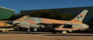 USAF Republic F-105G Thunderchief Wild Weasel/SEAD supersonic tactical fighter-bomber