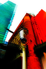 two times (j.p.yef) Tags: peterfey jpyef yef buildings oldlantern digitalart photomanipulation germany hamburg architecture