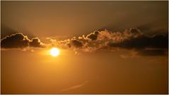 Sunset & Clouds (:: Blende 22 ::) Tags: germany german deutschland thuringia thüringen eichsfeld landkreis eic heilbadheiligenstadt heiligenstadt sunset sonnenstrahlen sonnenuntergang sonne sun clouds cloudy canoneos5dmarkiv sky himmel licht light ef70200mmf4lisusm