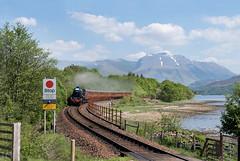 Black 5 No. 45157 'The Glasgow Highlander' - Loch Eil Outward Bound (Jonathon Gourlay) Tags: