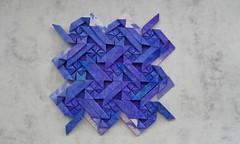 Her Majesty's Tessellation - Michal Kosmulski (Monika Hankova) Tags: origami tessellation michal kosmulski