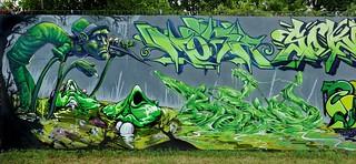 Graffiti Karlsruhe - Combo 2018