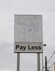 Pay Less (Nicholas Eckhart) Tags: america us usa anderson indiana in 2018 retail stores payless kroger