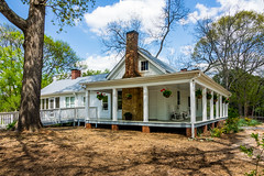 Farmhouse at McDaniel Farm (randyherring) Tags: park farm historic woods trees recreation nature relaxing hiking rural historical agricultural buildings countryside