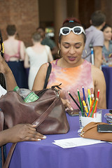 1352_0430FL (davidben33) Tags: brooklyn museum target queer eyes festive drawing art sketch women girls children models beauty 718