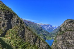 Mountains (Roman_P2013) Tags: mountains best shot landscape blue view green norway norge water lake