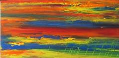 Red sky (Peter Wachtmeister) Tags: artinformel art mysticart modernart popart artbrut phantasticart minimalart acrylicpaint abstract abstrakterimpressionismus abstrakt surrealismus surrealism hanspeterwachtmeister