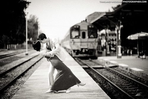 Hua Hin Train Station Thailand Wedding Photography
