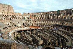 Colosseum basement exposed (zawtowers) Tags: rome roma italy italia capital city historic roman empire heritage monday 28 may 2018 summer holiday vacation break warm sunny colosseum flavian ampitheatre gladiatorial shows executions theatre round circular