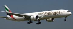 Boeing 777-31H A6-EPN (707-348C) Tags: dublinairport dublin dub airliner jetliner boeing boeing777 b77w uae b773 emiratesairlines emirates triple a6epn ireland 2018 passenger