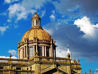 Cerca del cielo.       Catedral Metropolitana de Guadalajara
