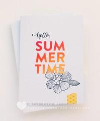 simon says stamp sending sunshine release - malibu sunset (rieslingmama) Tags: simonsaysstamp diecut guestdesign distressink cas