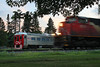 516 and the Slow Order Machine (view2share) Tags: cn1501 rdc budd stainless trackevaluationsystems test testtrain minneapolissub stcroixcounty newrichmond wisconsin wi summer sundown sunset dusk twighlight deansauvola june132018 june2018 june 2018 siding sidetrack rest layover westernwisconsin mow maintenanceofway maintenance trackmaintenance mainline trains track transportation train tracks transport trackage trees travel railway rr railroading railroad railroads rail rails railroaders rring emd electromotivedivision engine evening eastbound sd70m2 canadiannational cn 516 l516 cn516 cnl516