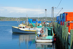 DSC00515 - West Dover Pier (archer10 (Dennis) 145M Views) Tags: fishing sony a6300 ilce6300 18200mm 1650mm mirrorless free freepicture archer10 dennis jarvis dennisgjarvis dennisjarvis iamcanadian novascotia canada westdover wharf boat lobster