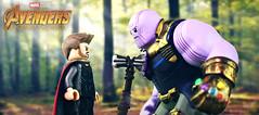 Avengers: Infinity War - Thor's Revenge (MGF Customs/Reviews) Tags: lego avengers infinity war thanos gauntlet thor custom figure minifigure