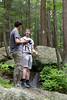 Tim and Dan with Cameras (bellemarematt) Tags: outdoor nature dan tim connecticut ct rock photographer watertown mattatuck trail forest people
