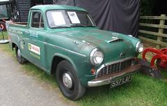 1961 Austin A55 Pickup #1 (occama) Tags: 597laf 1961 austin a55 pickup old british car ute cornwall uk original tatty unrestored leedstown garage 2018 half ton 10cwt