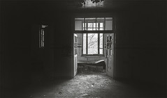 eyes of the window (x.myhai) Tags: dark darkness indoor mystery enigmatic romania canon creepy wallpaper lights