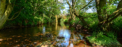 Tales From A Riverbank (cassidymike21) Tags: bridge stream river shade water trees nikon