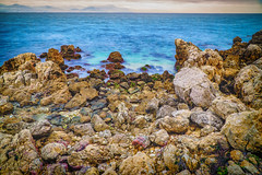 polychromatic rock (harakis picture) Tags: rock be beach colors france french riviera sony a7