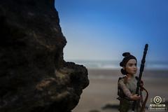 star wars saunton beach (kapper22) Tags: star wars beach saunton sands rock tide blue yellow