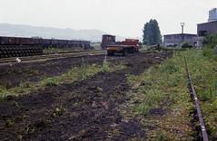 Dowmac summer 1984f (Kruiskop) Tags: gwsr dowmac quedgeley track panels