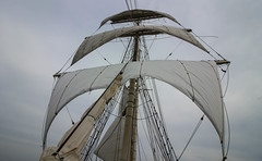 Sails up (Andy.Gocher) Tags: andygocher canon100d theladyofavenel tallship mast sails sailing boat ship