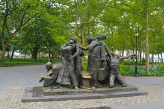 Immigrants Memoeial (fregettat) Tags: newyork nyc
