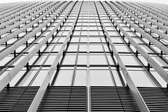 The Bitter End (Douguerreotype) Tags: london geometric glass monochrome blackandwhite symmetry uk abstract british buildings mono geometry city architecture britain urban gb bw window england