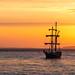 Oban Sunset (barrysprout) Tags: oban sunset scotland orange mast golden